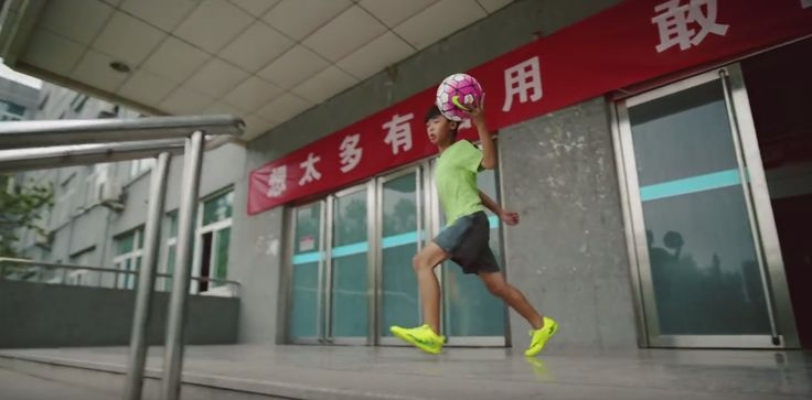 """Nike """"Just do it"""" in China – So sieht Nike Werbung in China aus 