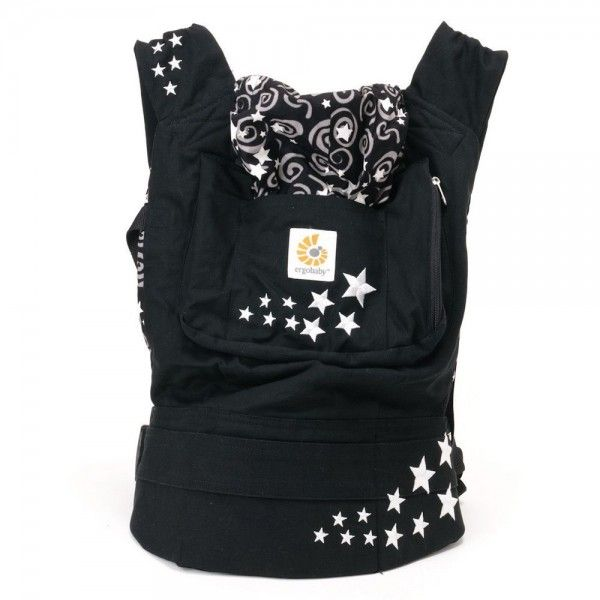 WORLDWIDE FREE SHIPPING New ErgoBaby Carrier with Box and Manual NIGHT SKY
