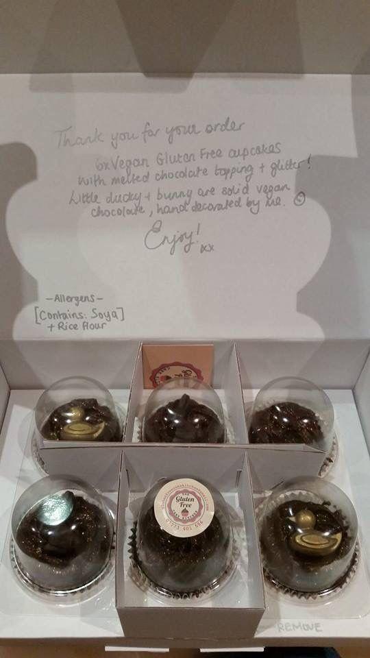 Cupcakes to your door! Yes please! #vegan #glutenfree #dairyfree