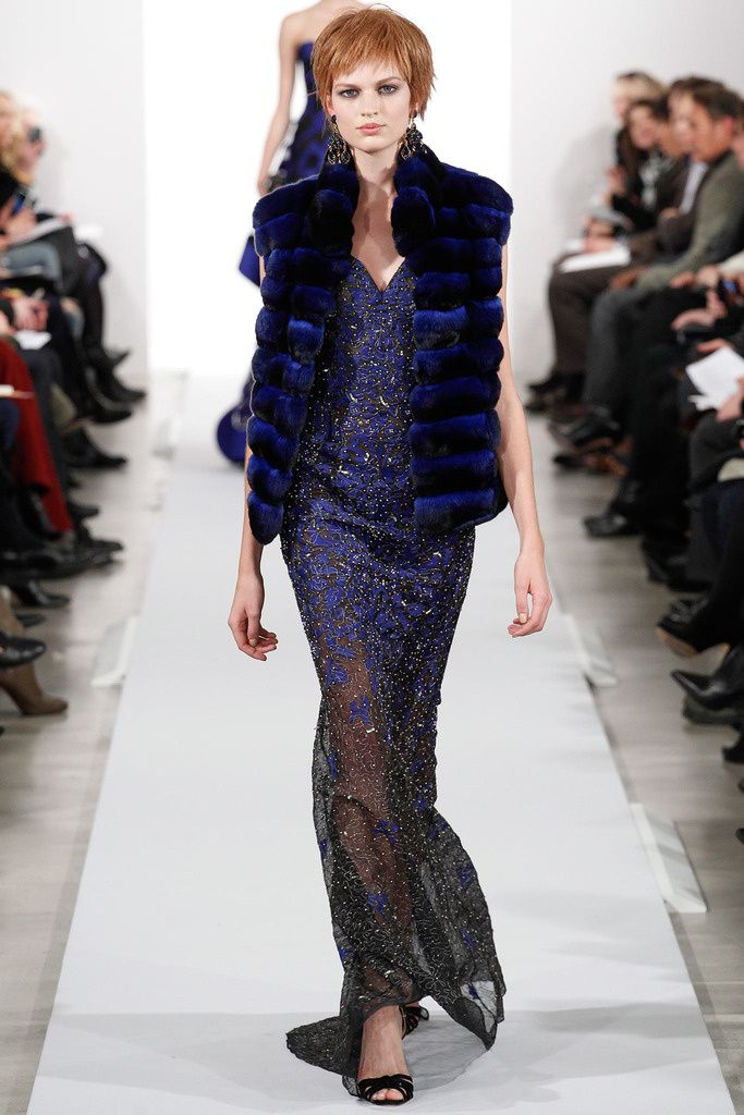 Oscar de la Renta Fall 2014 - NYFW - Fashion Runway