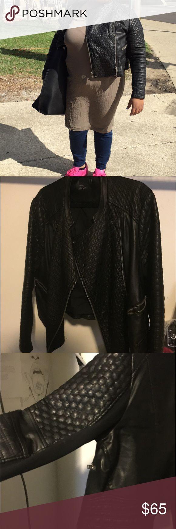 Jacket Asos curve leather jacket. Size 18. Excellent condition ASOS Curve Jackets & Coats