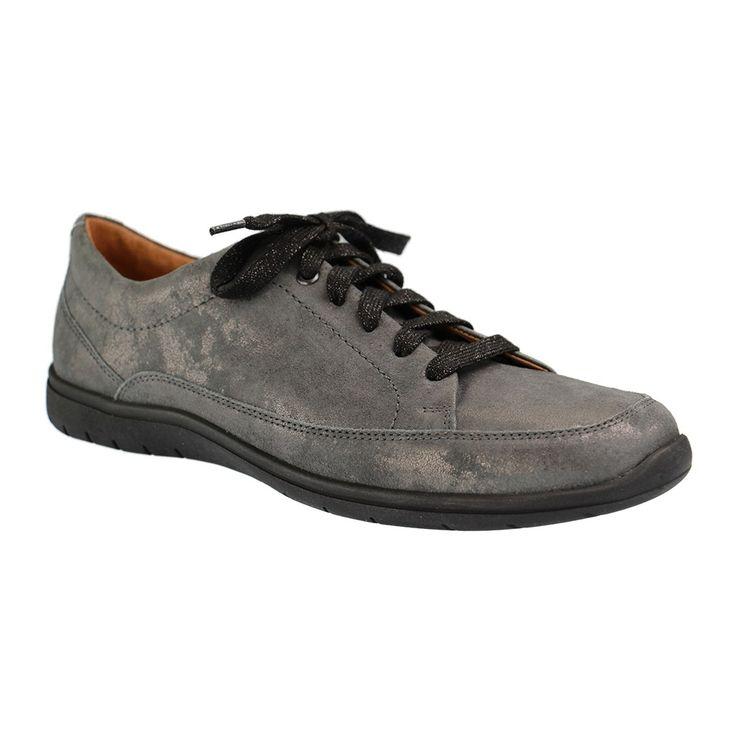 GANTER - Gill G - Damen Halbschuhe - Grau XXL Schuhe in Übergrößen. Größe 42 bis 46