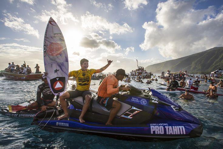 Gabriel Medina just won the 2014 Billabong Pro Tahiti | SURFER Magazine