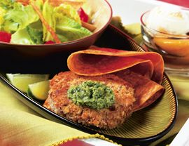 Chipotle-Bean Burgers with Cilantro Sauce: Recipes Creator, Patties ...