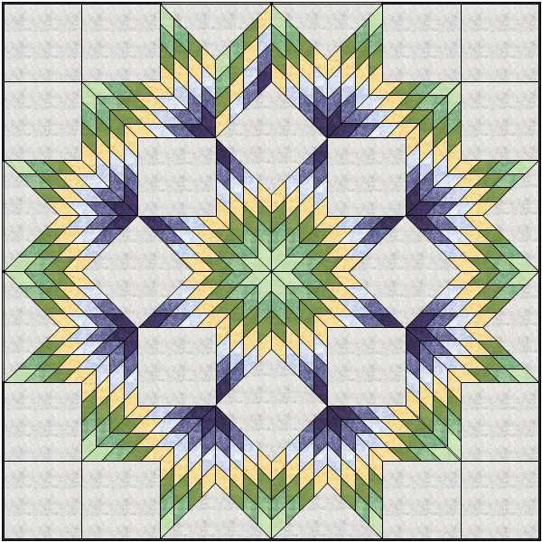 Quiltin' Bs Broken Star/Lone Star quilt | Plano ASG                                                                                                                                                                                 More
