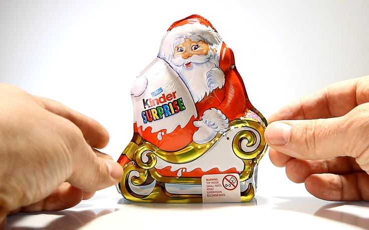 Kinder Surprise Santa Claus - Christmas 2013 Edition !