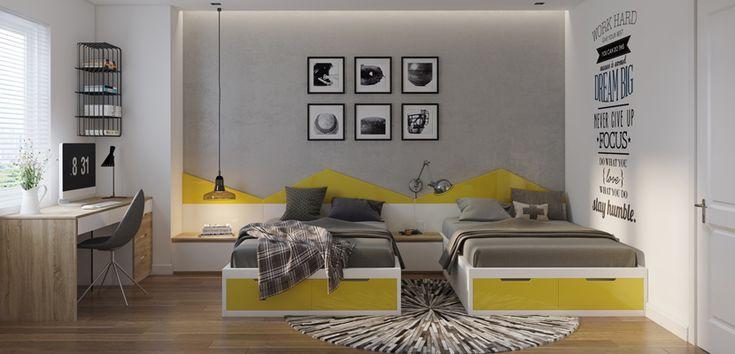 Gris en Pinterest  Gris, Dormitorios amarillos y grises y Baños gris