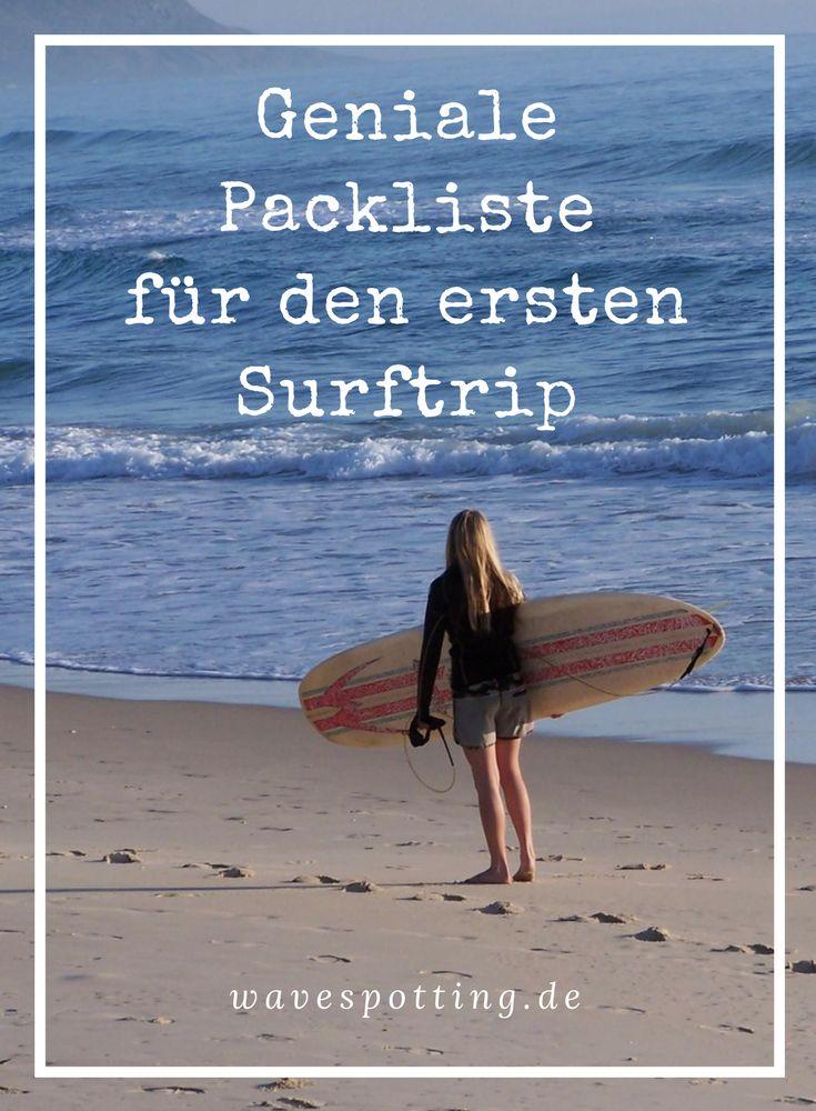 Surfen || Packliste || Tipps || Surf Tips || Ideen || Surfing || Reisen