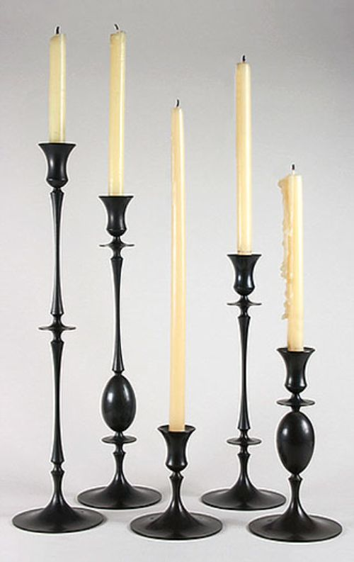 Ted Muehling. candlesticks.