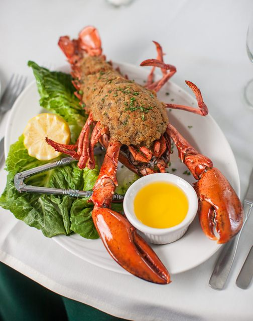 Chef Avi's Baked Stuffed Lobster | Stonehurst Manor Hotel - North Conway, NH