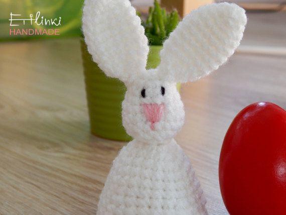60 best cool crochet gifts etilinki images on pinterest crochet easter bunny egg warmer cosy egg cozy crochet rabbit easter table decor spring celebration gift decoration housewarming gift hostess kitchen negle Images