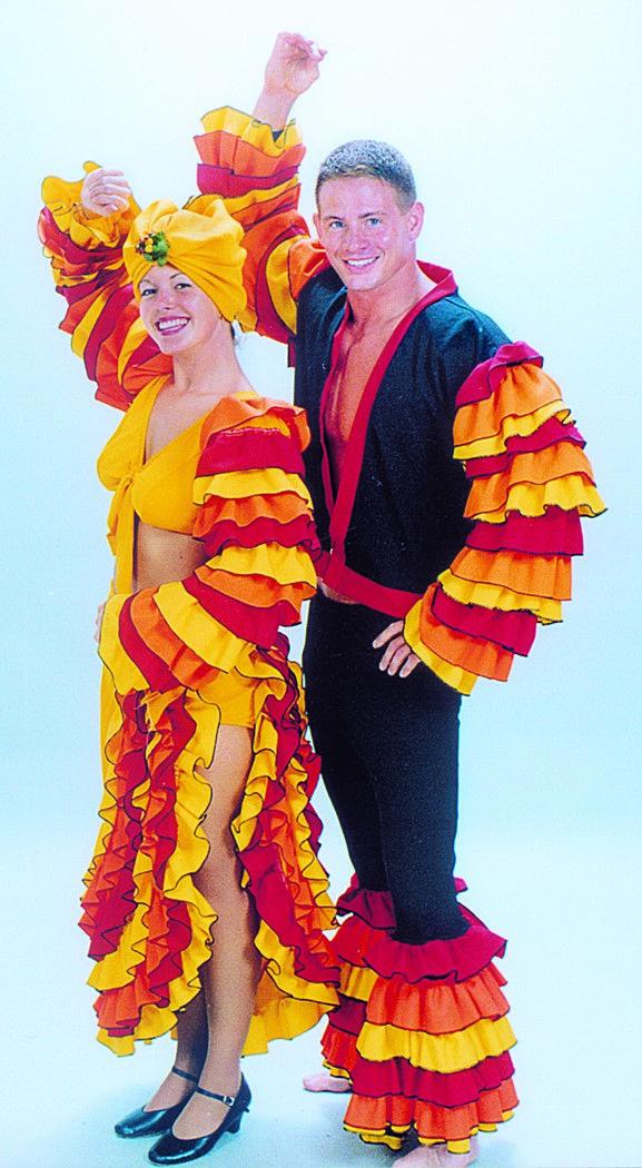Havana Rumba Cha Cha Costumes - Guys and Dolls Rental from ...