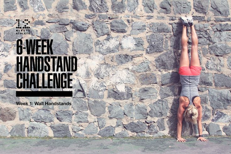 Today is the official start of our brand new 6-week challenge and I couldn't be more excited to be focusing on handstands.  During the next month and a half, we're going to be working on different exercises you can do to help you build up to doing a freestanding handstand. Don't