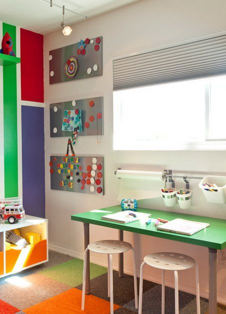 Colorful Rug Decorations and Small Table Furniture in Preschool and Kindergarten Classroom Design Ideas Preschool Classroom Design Ideas with Colorful Themes Layout