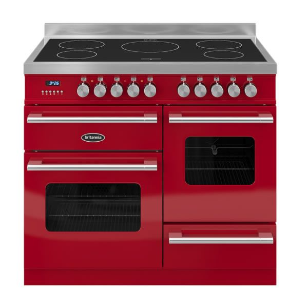 Britannia DELPHI RC10XGIDERED 1000mm Twin Electric Range Cooker Induction Hob Red http://www.MightGet.com/january-2017-13/britannia-delphi-rc10xgidered.asp