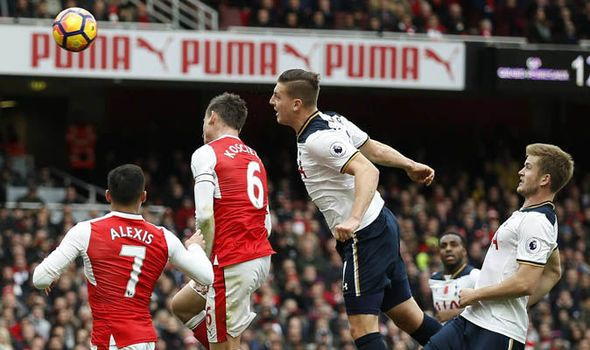 Is that the Wimmer? Arsenal fans celebrate wildly as Spurs defender heads own goal   via Arsenal FC - Latest news gossip and videos http://ift.tt/2eC4NGt  Arsenal FC - Latest news gossip and videos IFTTT