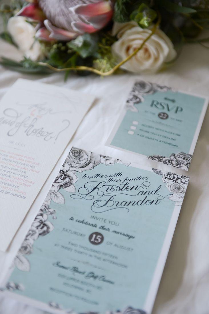 lotus flower wedding invitations%0A Kristen  u     Brandon   stationery by Kristen Joy Baker