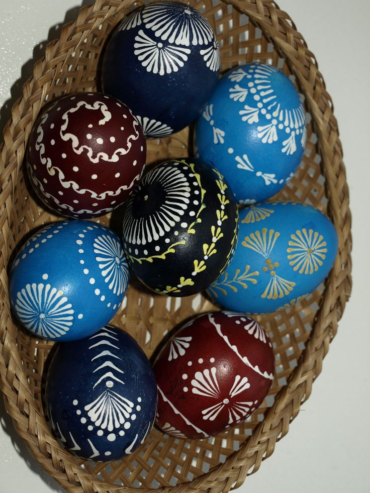Lithuanian Easter eggs (decorated by me)