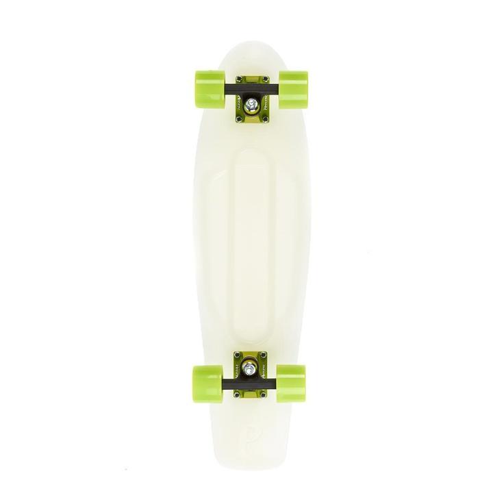 Penny Nickel Complete Skateboard, Glow/Green - 27 inch