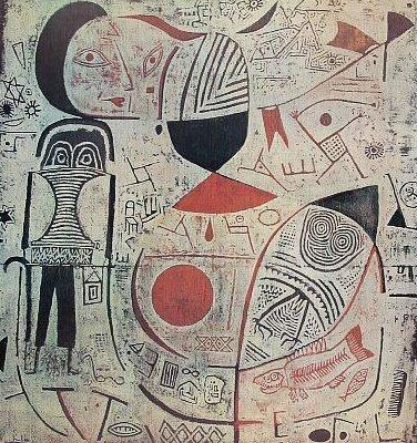 'Picture Album' by Swiss artist Paul Klee (1879-1940). via world gallery