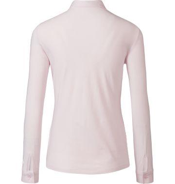 Purdey roze blouse met stretch