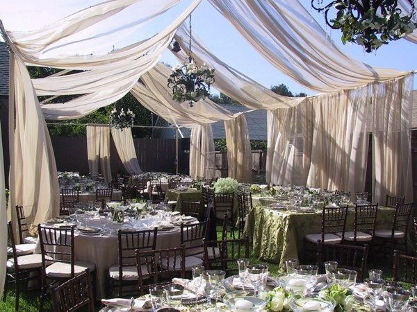 Fabric draping vs. white tents!: Wedding Receptions, Dreams, Wedding Decor, Wedding Ideas, Parties, Tent, Backyard Weddings, Outdoor Weddings, Outdoor Receptions