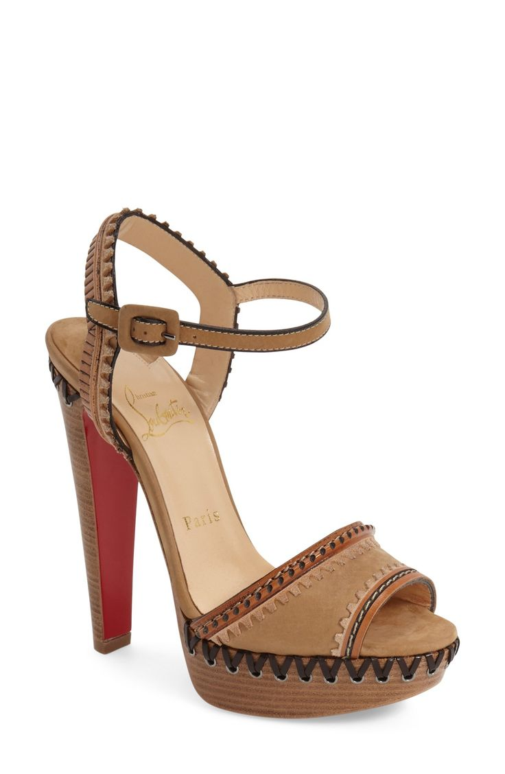 Christian Louboutin \u0026#39;Trepi\u0026#39; Sandal | Go around... shoes ...