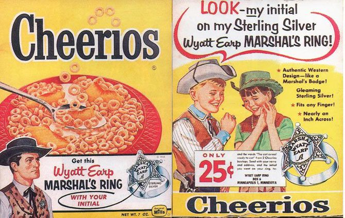 mascots advertising vintage cereal