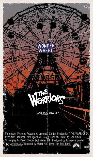 The Warriors by onetwentythree, via Flickr alternative movie poster film