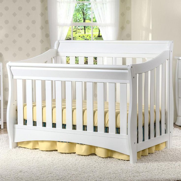 best crib white toddler bentley chalet kit to in conversion bed delta angled ebony s chocolate children