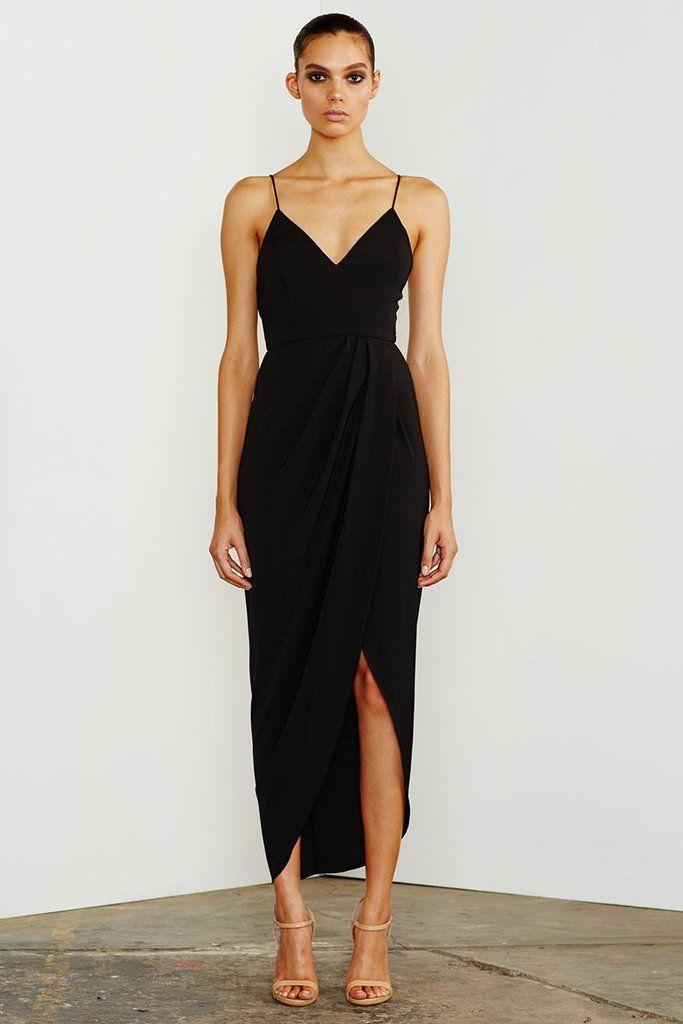 CORE COCKTAIL DRESS - BLACK