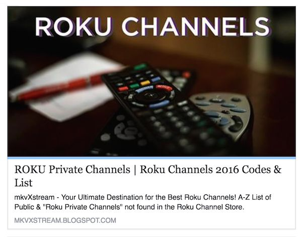 10 images about Huge List of Roku Private Channels on