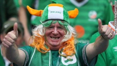 Irish fans out of control at Euro 2016 - in the best possible way - CNN.com