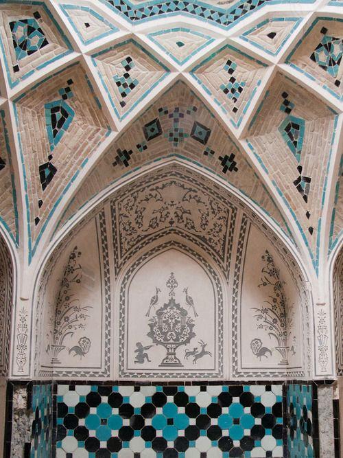 archilista: androphilia: Hammam Of The House Of The Āmeri Family (Khan-e…