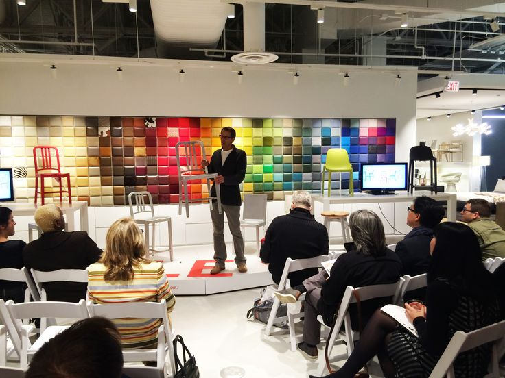 Emeco CEO Gregg Buchbinder Giving A Special Talk At DWR Chicago On Authenticity