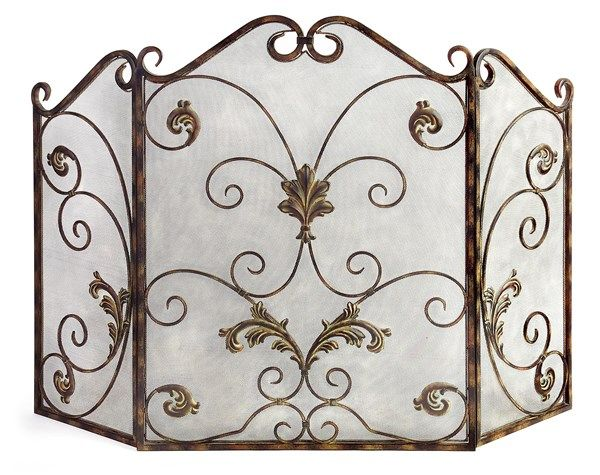 Our beautifully designed Catarina Fireplace Screen is made of wrought iron  and is decorated with a - 17 Best Ideas About Wrought Iron Fireplace Screen On Pinterest