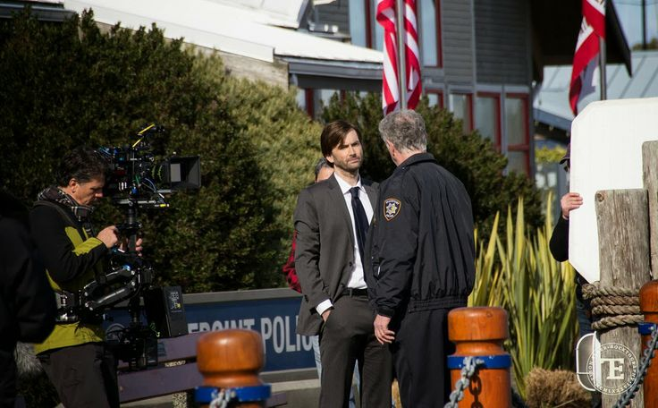 PHOTOS: David Tennant On The Set Of Gracepoint in Sidney, BC, Canada