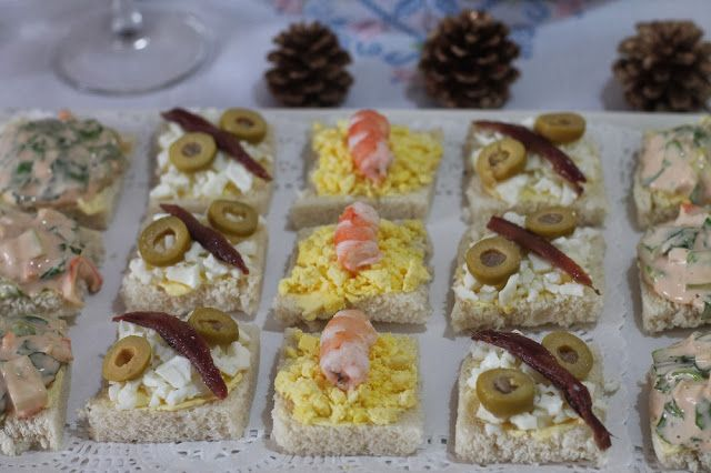 Canap s navide os aperitivos tapas y canap s pinterest for Canape menu prices