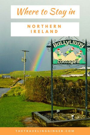 Are you headed to Northern Ireland to check out the Game of Thrones filming locations and Giant's Causeway? If you are wondering where to stay in Northern Ireland than the Ballylinny Cottages near Bushmills is the perfect spot. Stay in self-catering cottages in Northern Ireland. Pin this guide on where to stay in Northern Ireland for your Irish road trip. #ireland #northernireland #giantscauseway #irishroadtrip