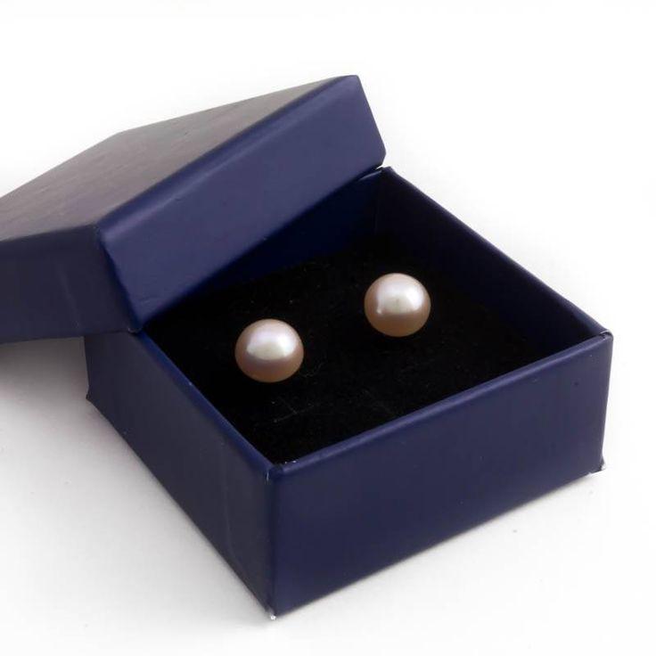 Stijlvolle zilveren parel oorknopjes met roze zoetwaterparels van ca. 7 mm koop je bij Aurora Patina, de no. 1 in klassieke sieraden.