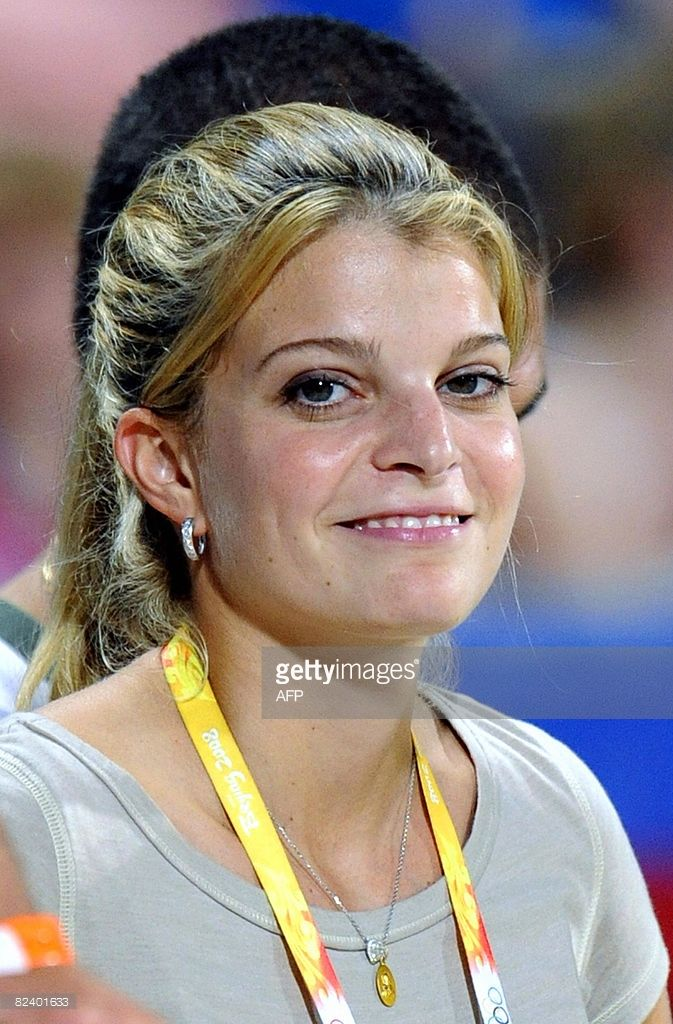 Billionaire Athina Roussel Onassis attends the Equestrian Jumping Individual competition of the 2008 Beijing Olympic Games in Hong Kong on August 18, 2008. AFP PHOTO / DDP / DAVID HECKER