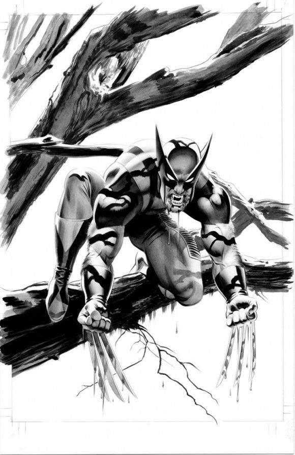 Wolverine comic drawings   Wolverine,Comic Book art,Vampire