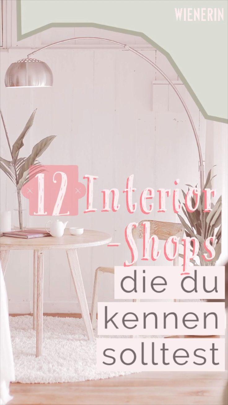 Interior Design: 12 Interior-Shops, die ihr kennen solltet – Pinterest Deutschland, Österreich & Schweiz