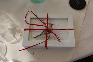 UPUPA for a wedding gift by elisabetta mitrovic elisabettamitrovic.blogspot.com