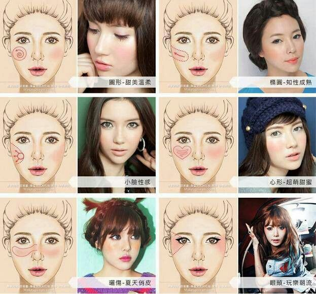 Best 25 asian makeup mirrors ideas on pinterest korean acne how to apply cute asian blush ccuart Images