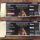 #Ticket  Iron Maiden  Book of Souls  2 x Stehplatz tickets  Oberhausen  Metallica #Ostereich