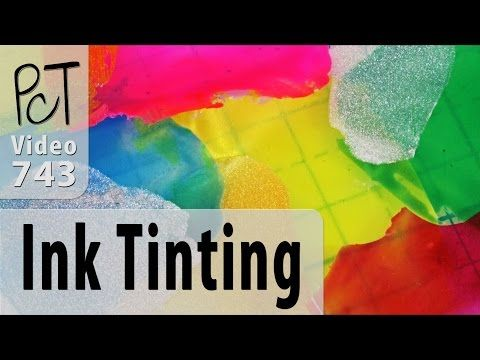 How To Tint Liquid Polymer Clay With Alcohol Ink #polymerclaytutor #polymerclay