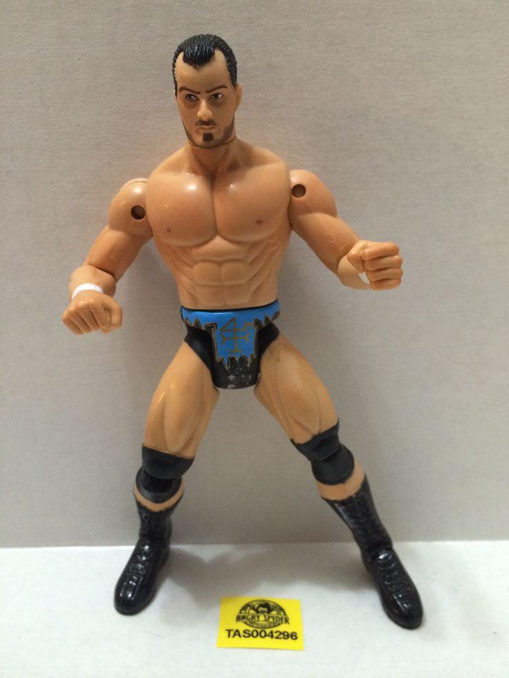(TAS004296) - WCW WWE Jakks Wrestling Figure - Dean Malenko