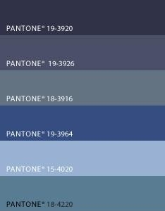 Pantone blue colors denim color trim pinterest for Blue jean paint color
