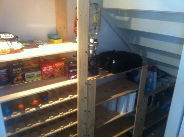 Trapkast indeling. 2x 16,95 uitgeven bij de Ikea, wat zagen en klaar.